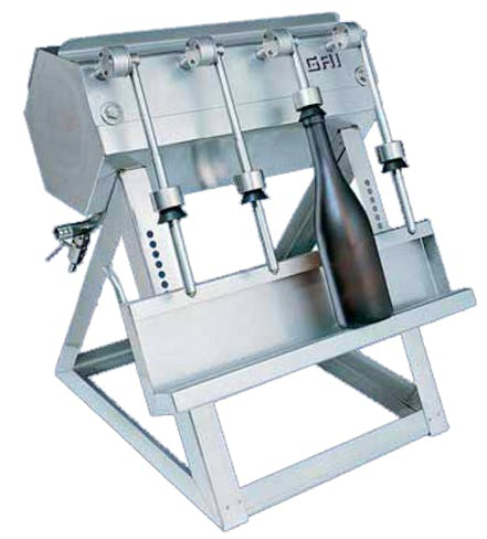 Gai Semi Auto Filler Wine Beer Inline Filling Glass