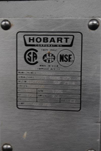 Hobart Model D300t 30 Qt Mixer Mixer Sold By Union