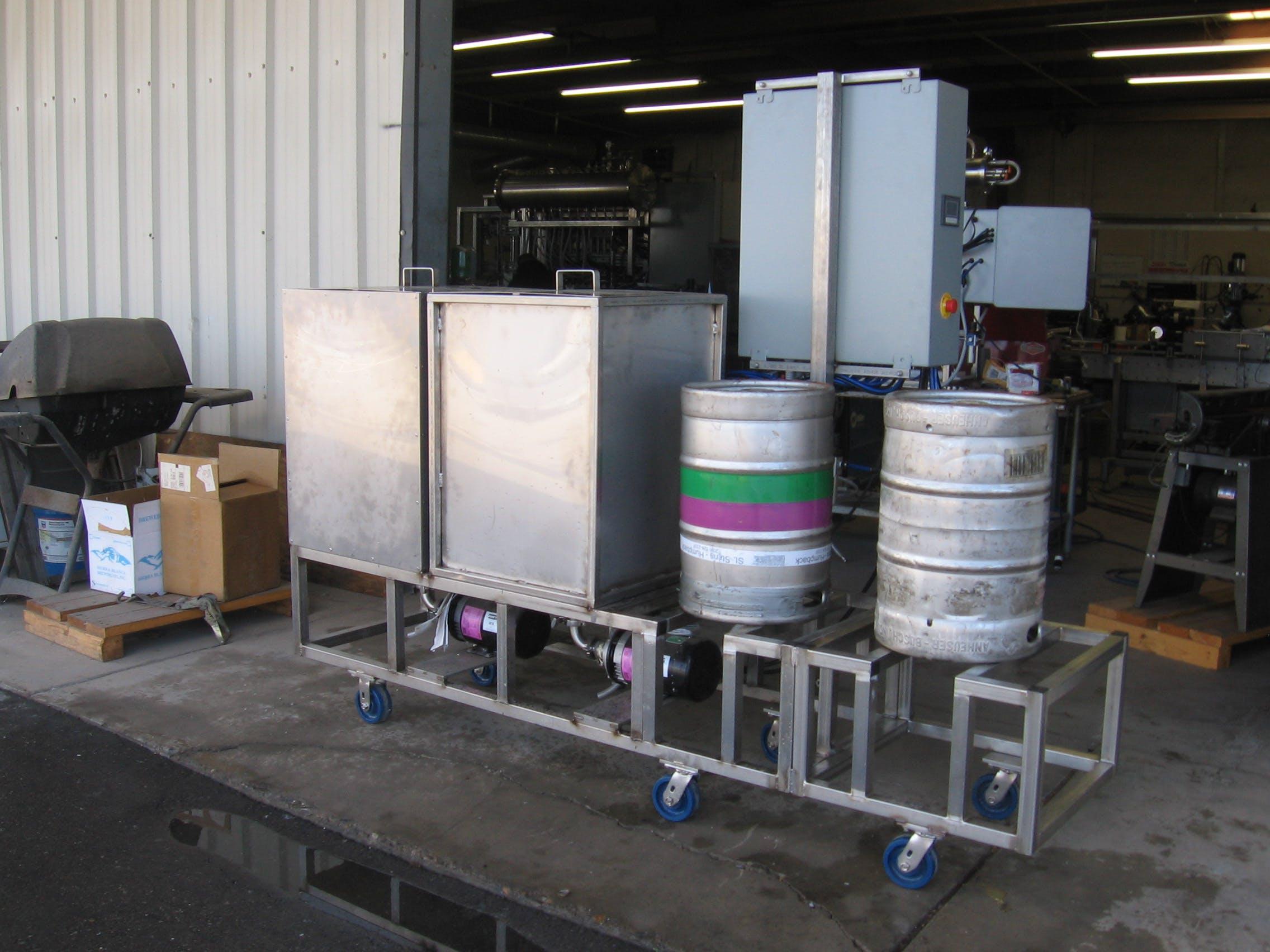 Semi Automatic Keg Washer Dual Station Keg Washer Sold