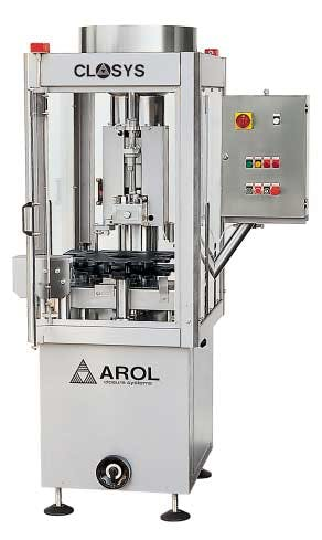 AROL automatic corking machine