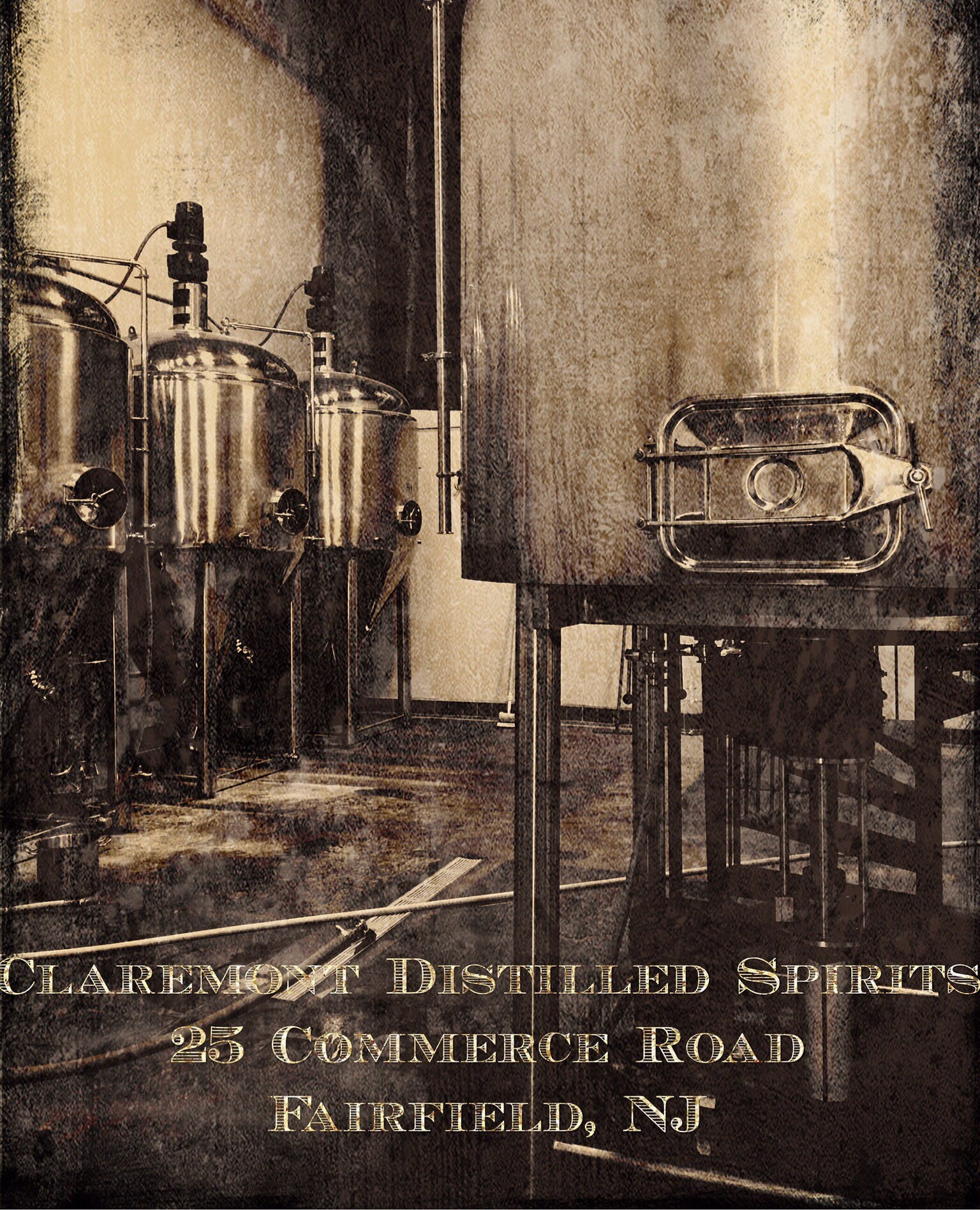 Claremont Distillery is proud to distill craft liquor in its Claremont-based tanks