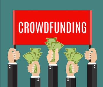 Another way to get your new small business financed is to get crowdfunded