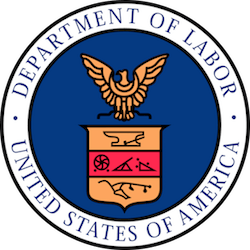 Image of United States Department of Labor seal/logo