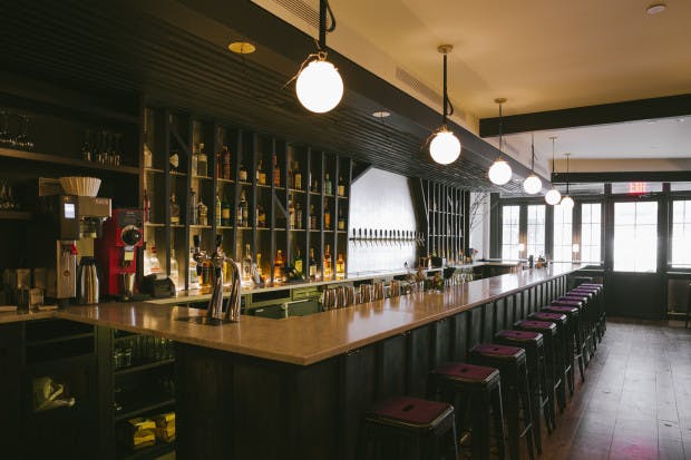 Image of Wassail cider bar courtesy of Bon Appetit