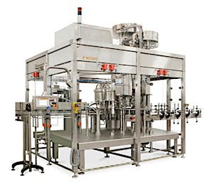 Photo of an automatic filling machine sold by a supplier on Kinnek
