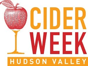 Image of the CiderWeek Hudson Valley logo