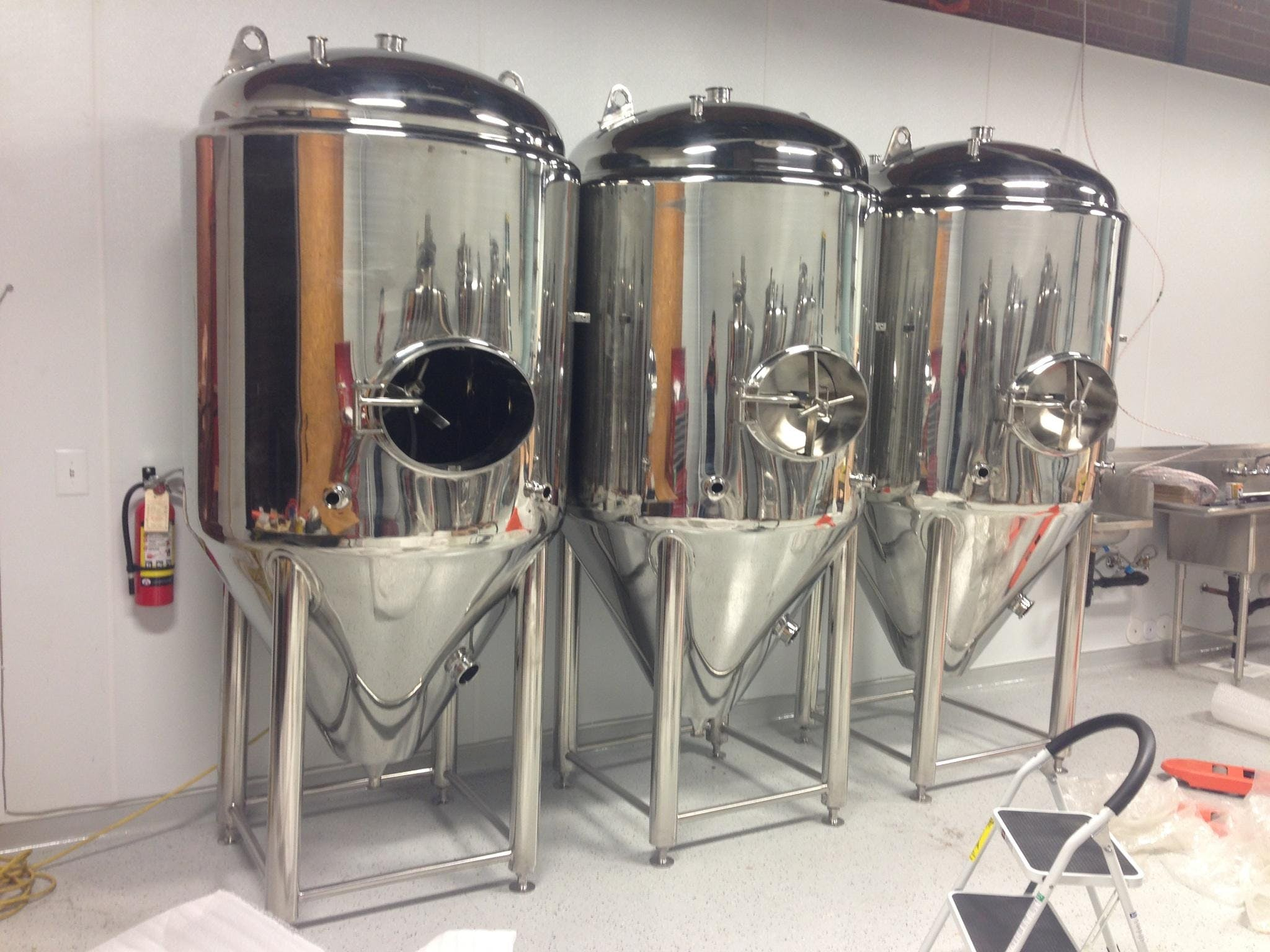 bru gear jacketed fermenter