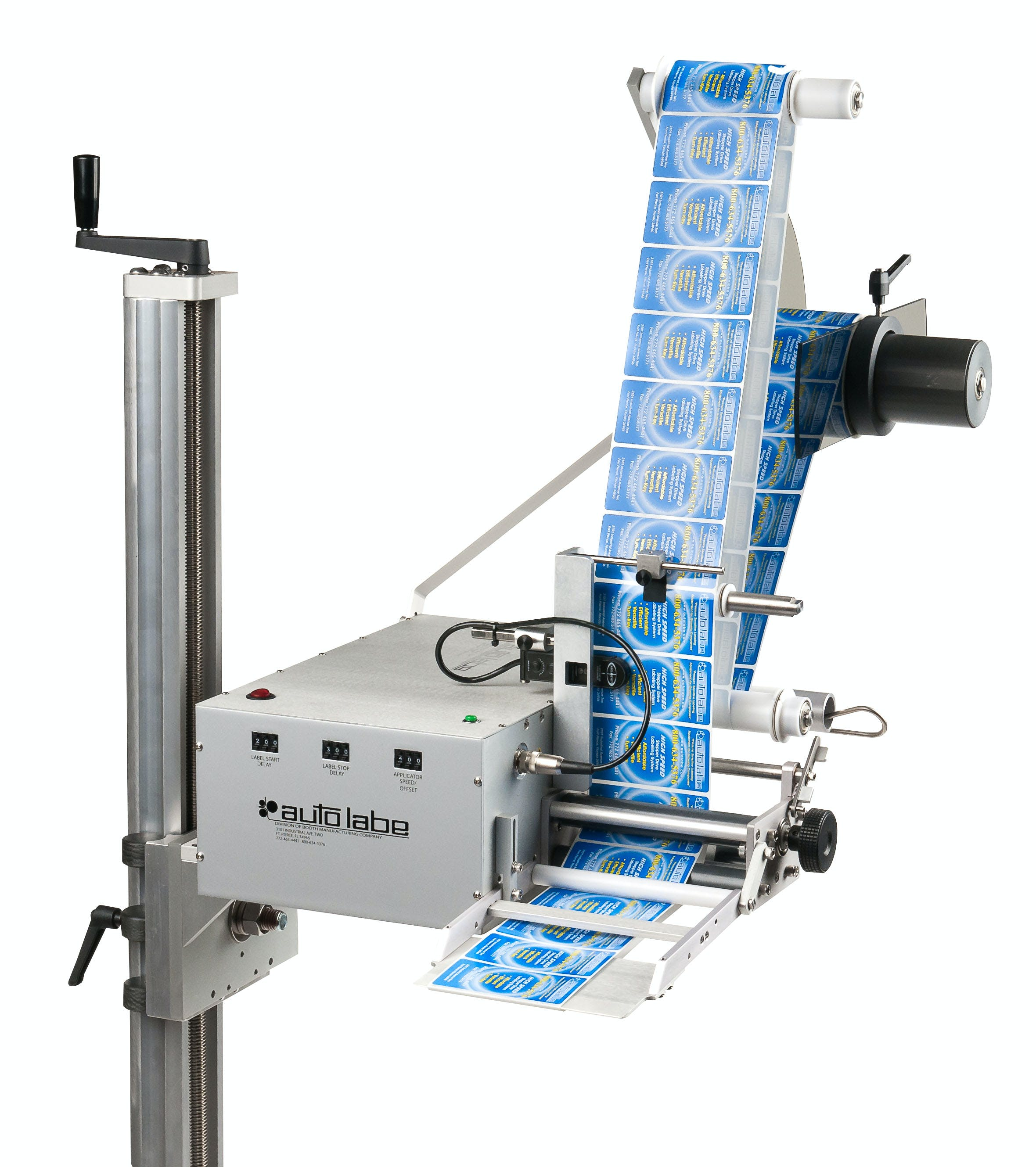Model 110S Servo Control Label Applicator Labeling machine sold by MSM Packaging Solutions