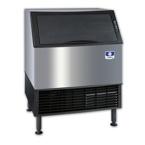 Manitowoc UY-0310A NEO Undercounter Half Cube Ice Machine Air Cooled - 304 lb. Ice machine sold by WebstaurantStore