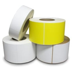 Labels Label printer sold by Robinson Tape & Label Inc., South