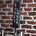 Chalkboard Beer Tap Handle - 11 3/4 tall - Tap handle sold by BarProducts.com