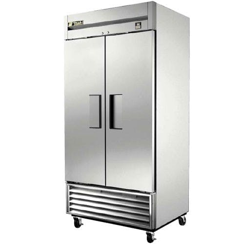 True Manufacturing TS-35 Stainless In and Out Refrigerator, 2 Door, 35 Cu. Ft. Commercial refrigerator sold by Mission Restaurant Supply