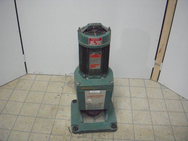 LIGHTNIN HJQ 230 Top Entering Mixer 3.5 Hp Tank agitator sold by Aevos Equipment