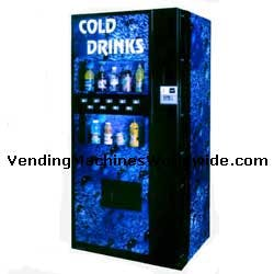 Dixie Narco 501E Live     Display Vending machine sold by Miami Vending Machines
