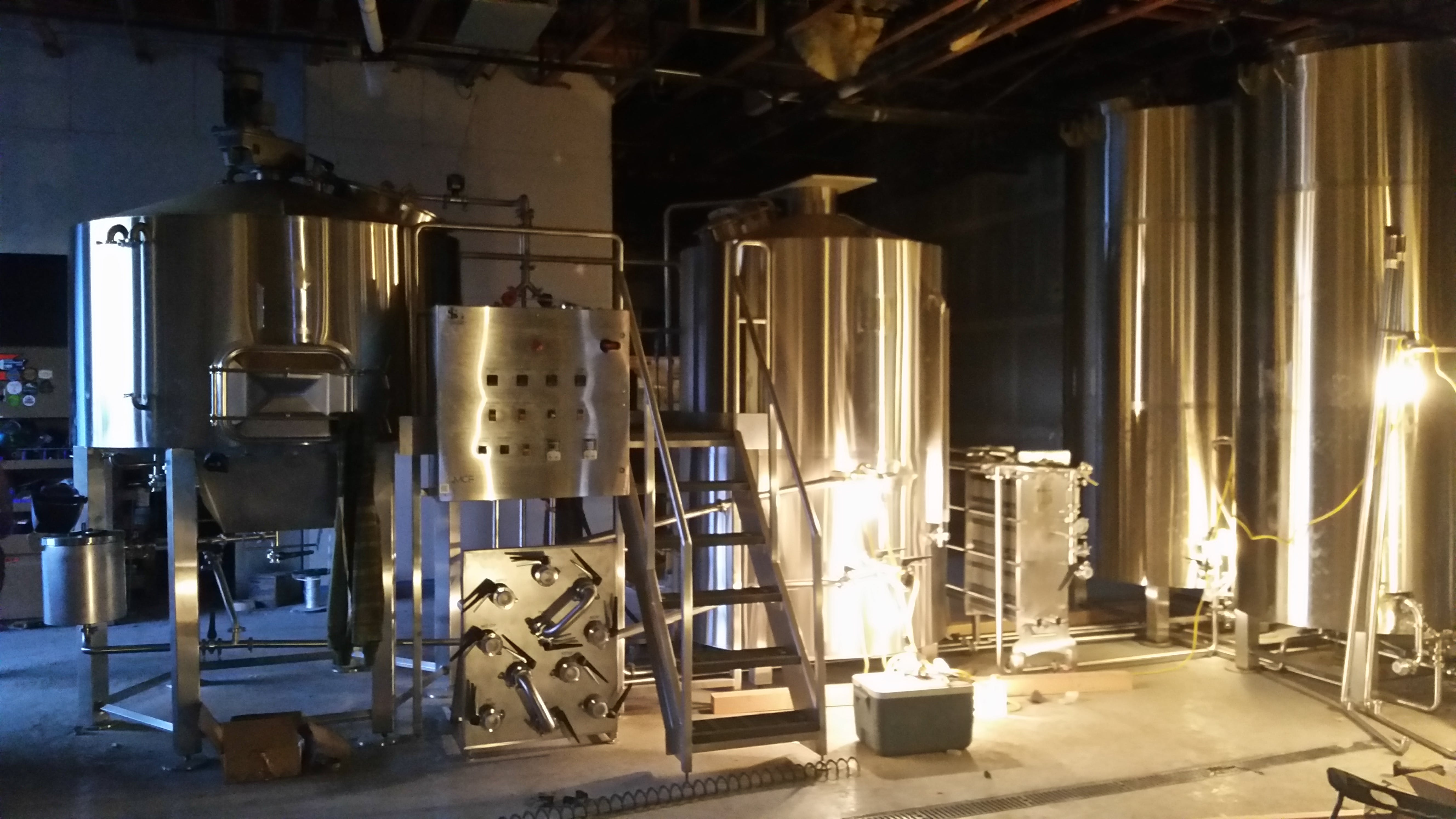15bbl 2 vessel direct fire brewhouse Brewhouse sold by Agile Stainless LLC