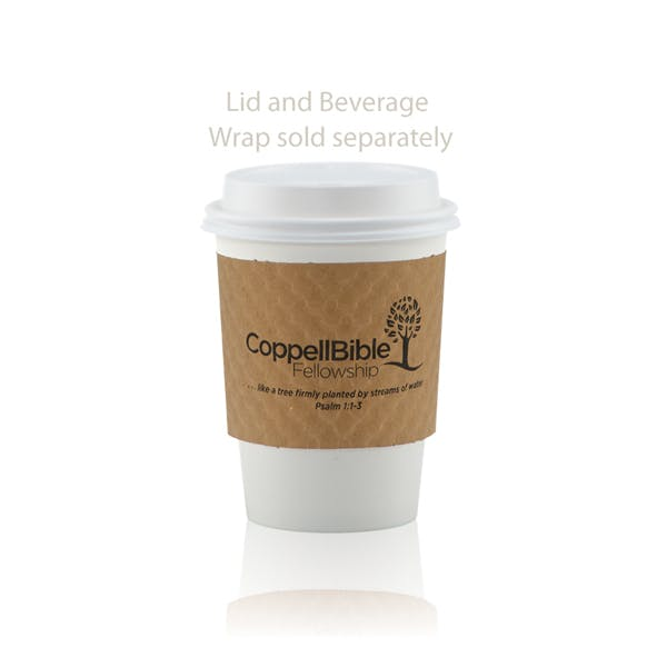 12oz Paper Cup - White Paper packaging sold by Ink Splash Promos™, LLC