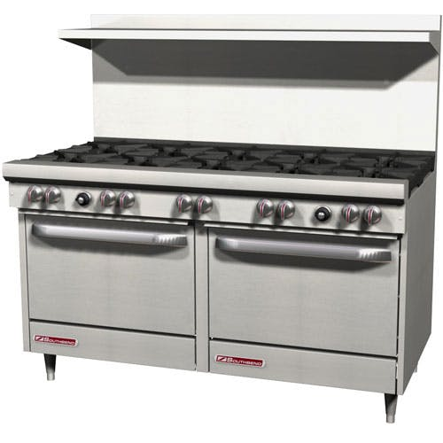 "Southbend (S60DD) - 60"" Gas Open Burner Restaurant Range - S Series Commercial range sold by Food Service Warehouse"