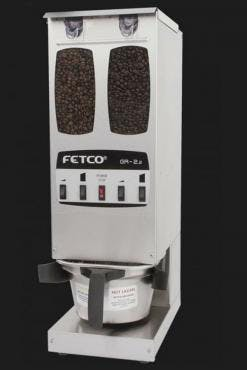 Fetco GR-2.2 - Portion Controlled Coffee Grinder - Dual Hopper Coffee grinder sold by Prima Coffee