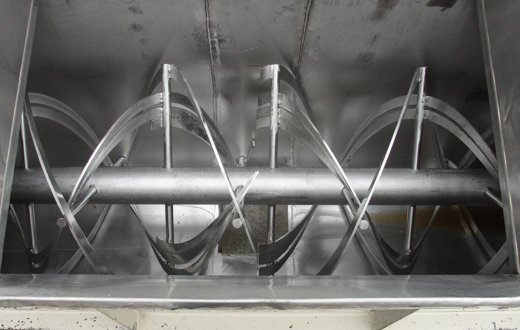 60 cu.ft. stainless steel double ribbon blender - sold by Special Projects International