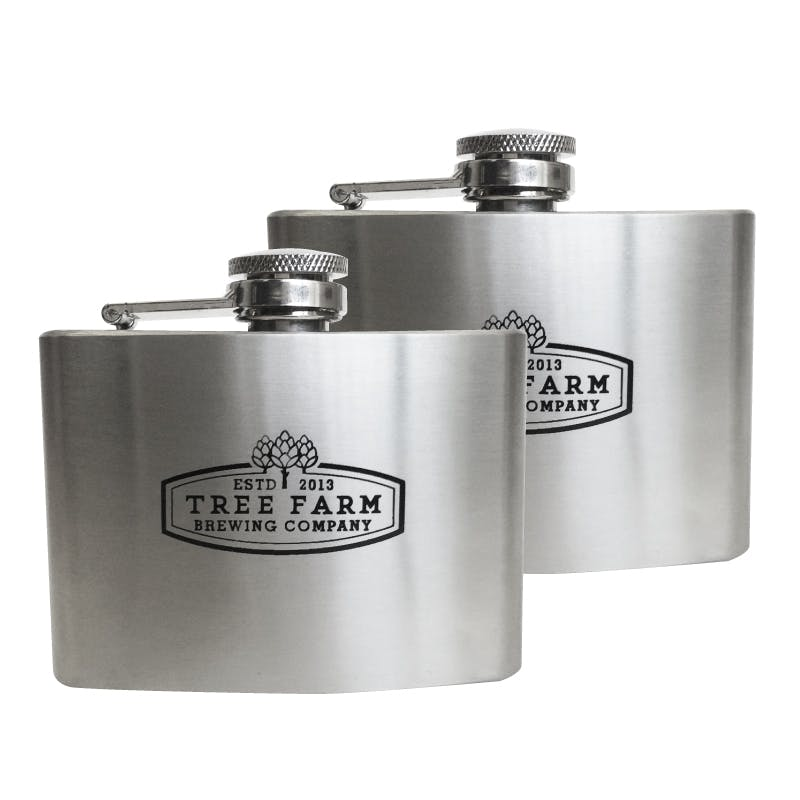 4 Oz. Flask (Item # KFLPR-JSIGA) Flask sold by InkEasy
