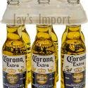 Six Pack Plastic Bottle Carriers - 12-20oz Bottles - Bottle carrier sold by Jay's Import & Wholesale