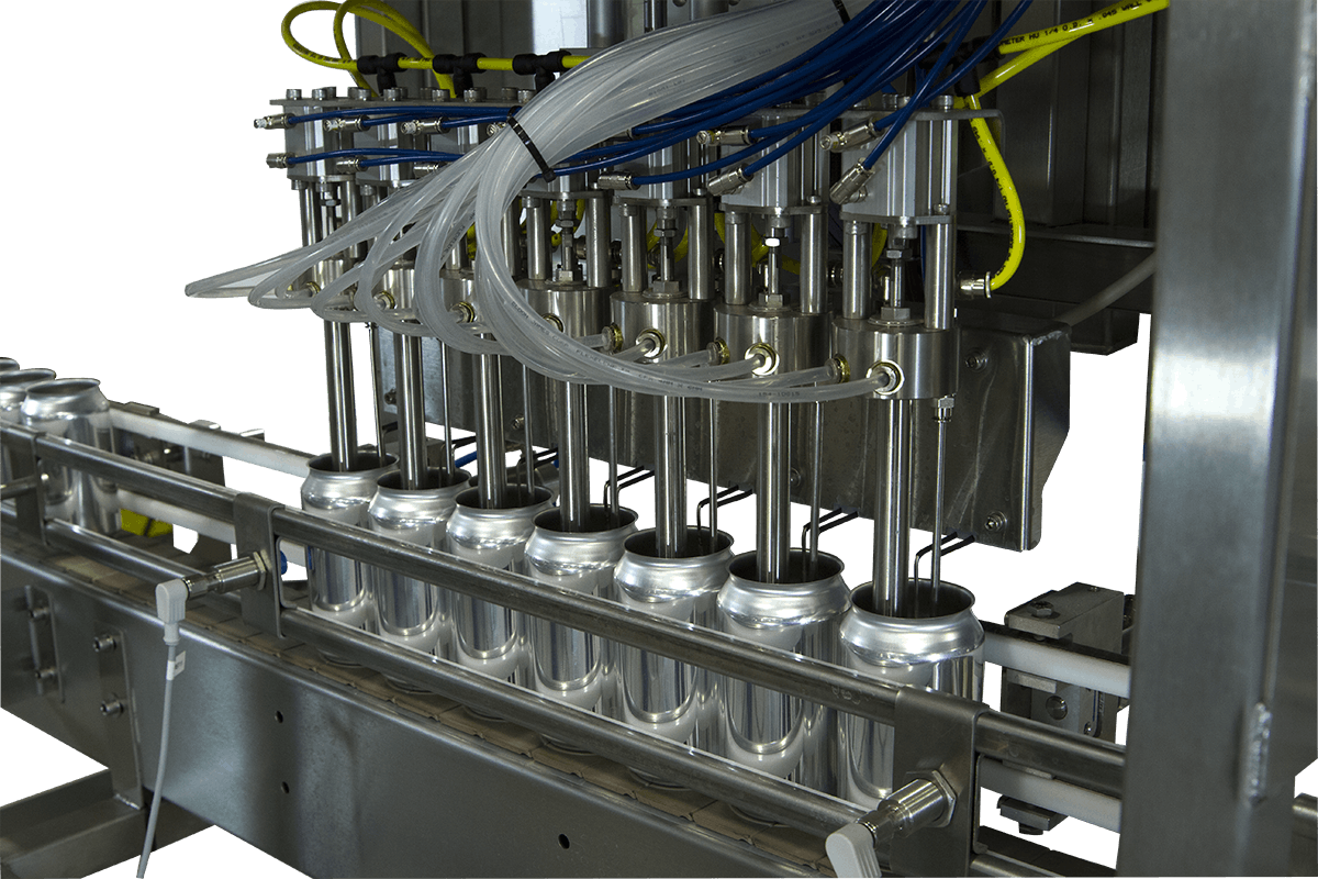 fillheads - A.B.E.'s LinCan 18, 35 & 65 - sold by American Beer Equipment