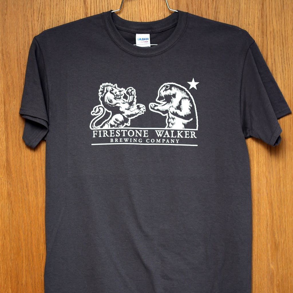 100% cotton promo tee - Firestone Walker Promotional shirt sold by Brewery Outfitters
