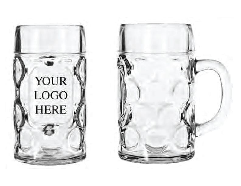 12030021 - Libbey 42 oz Oktoberfest Beer Mug Glass mug sold by ARTon Products