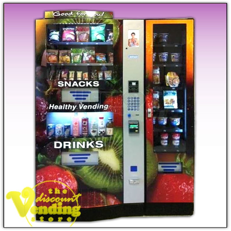 NEW Seaga HY900 Healthy You Combo Vending Machine Vending machine sold by The Discount Vending Store