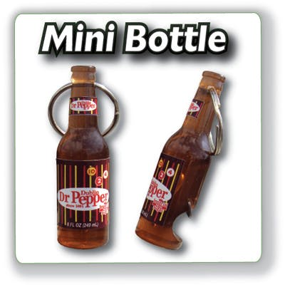 Mini Bottle Opener Key Tag Bottle opener sold by MicrobrewMarketing.com