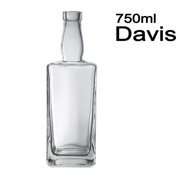 750ml Davis Liquor bottle sold by Wholesale Bottles USA