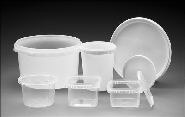 Tamper Evident Tubs and Lids Tub sold by Midway Container