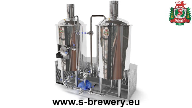 "Brewery «Schulz-100"" Brewhouse sold by HEINRICH SCHULZ"