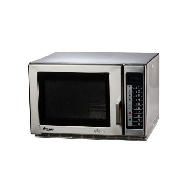 1200w Stainless Medium Duty Commercial Microwave Oven