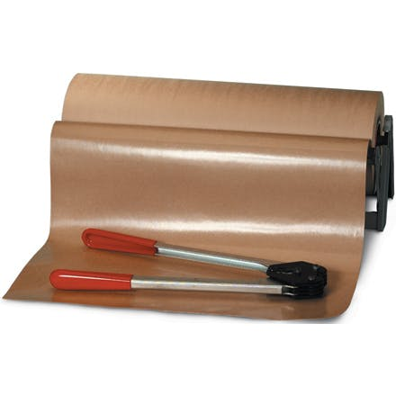 Poly Coated Kraft Paper Rolls Kraft packaging sold by Ameripak, Inc.