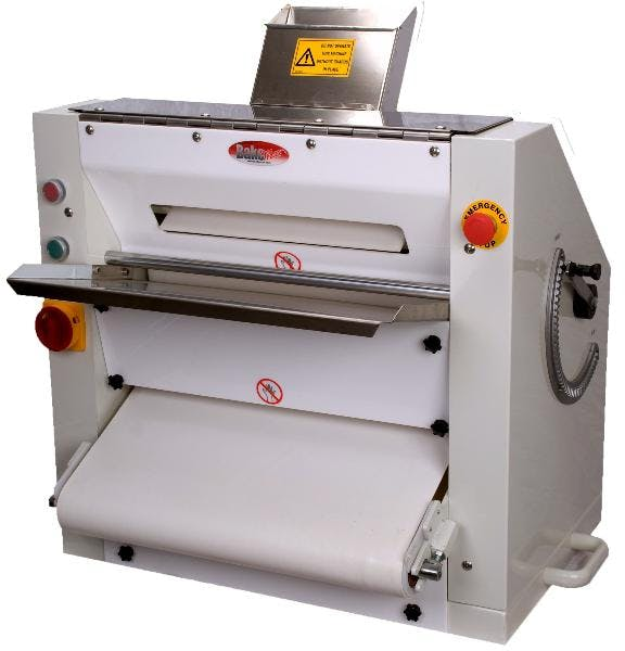 """Bakemax BMPS001 Two Pass Dough Sheeter (up to 20"""" diameter) - sold by pizzaovens.com"""