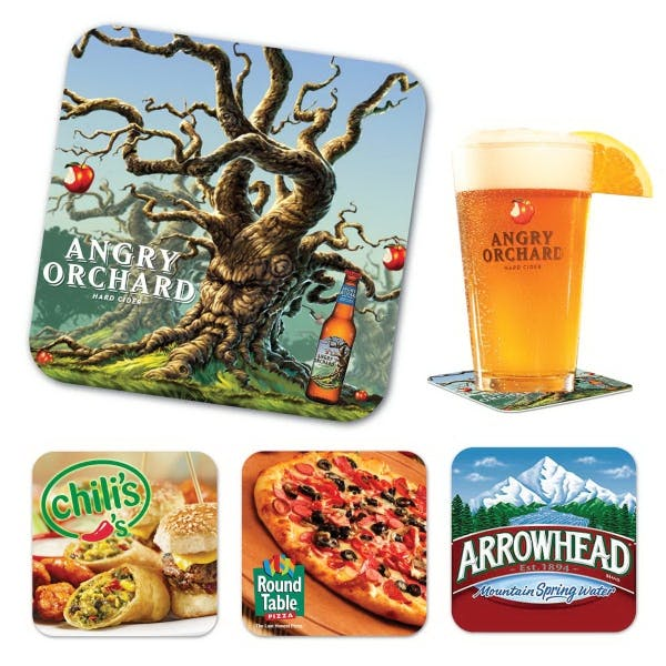 Paperboard Coaster, 40 Pt. Drink coaster sold by 4imprint