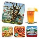 Paperboard Coaster, 40 Pt. - Drink coaster sold by 4imprint