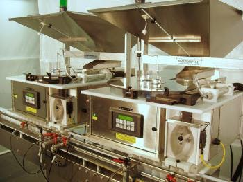 TC3 Fully Automatic Tablet Capsule Counter Filler Bottle filler sold by MSM Packaging Solutions