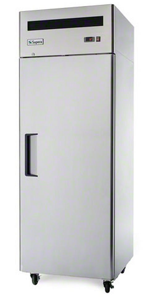 "Supera (R1R-1) - 29"" Solid Door Reach-In Refrigerator Commercial refrigerator sold by Food Service Warehouse"