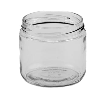 12 oz Straight-Sided Jars 82 Lug Glass Jar sold by Fillmore Container Inc