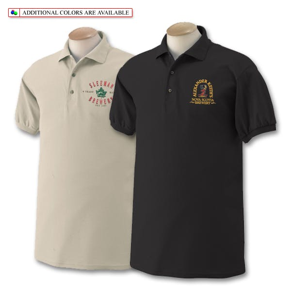 Gildan 50/50 Sport Shirt Promotional shirt sold by MicrobrewMarketing.com