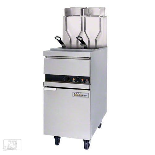 ANETS (14EL-17AA) - 50 Lb High-Efficiency Electric Fryer - GoldenFry Series Commercial fryer sold by Food Service Warehouse