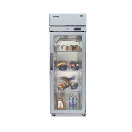 Hoshizaki RH1-SSE-FG Professional Series One Section Refrigerator, Glass Door, 22.3 Cu Ft Commercial refrigerator sold by Mission Restaurant Supply