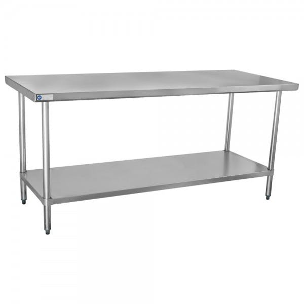 "30"" x 72"" Stainless Work Table"