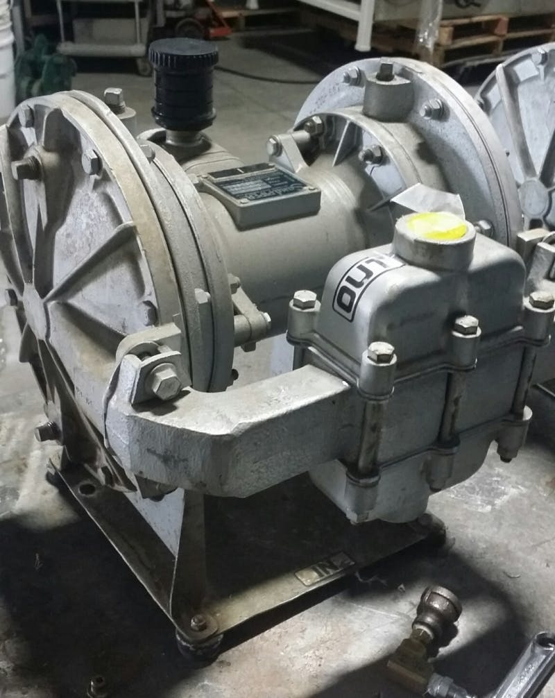 SANDPIPER ST1-A (DVG-2-SS) Diaphragm Pump (Used) - sold by Aevos Equipment
