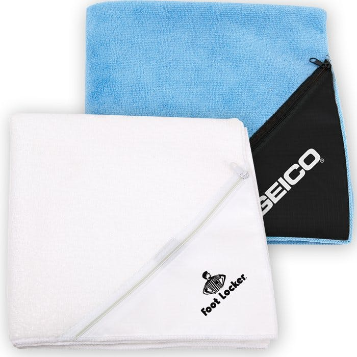Microfiber Fitness Towel (Item # EILNS-IBMJH) Towel sold by InkEasy
