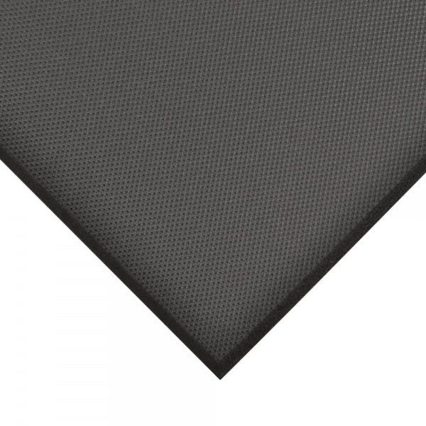 "36"" x 24"" Black Grease-Resistant Floor Mat"
