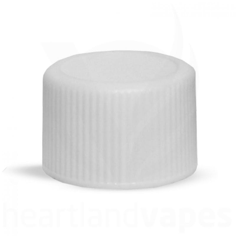 White Caps Heartlandvapes Wholesale Bottle cap sold by Heartland Vapes LLC