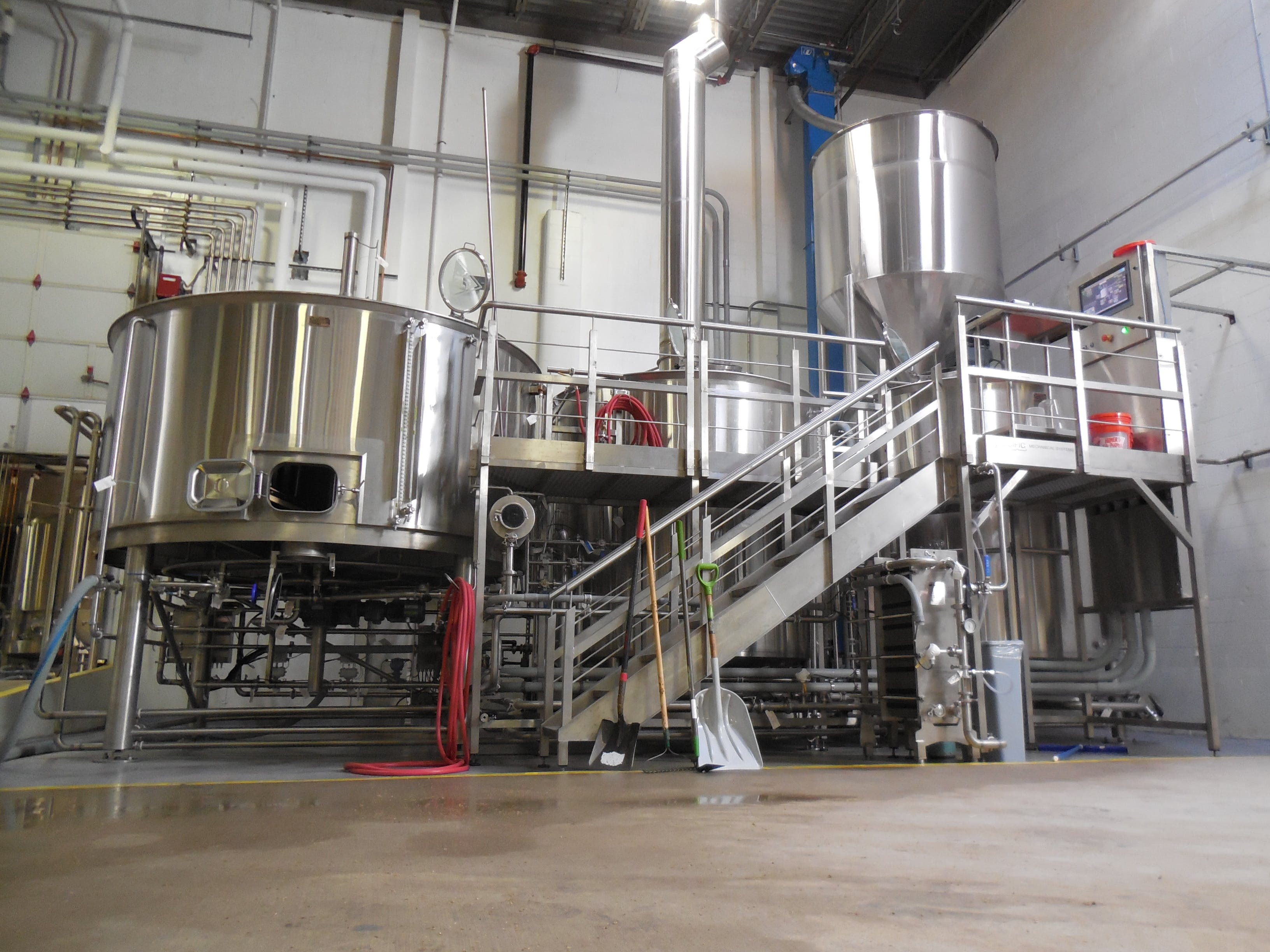 60 barrel automated brewhouse Brewhouse sold by Specific Mechanical Systems